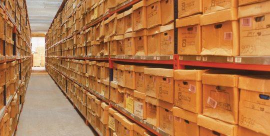 מגוון מדפים למחסן