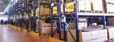 מדפים מודולריים למחסן