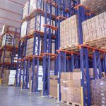 מדפים למחסן ממתכת משקל כבד