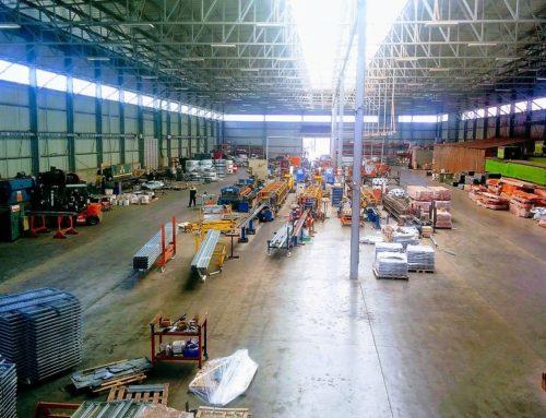 מפעל מדפים למחסן