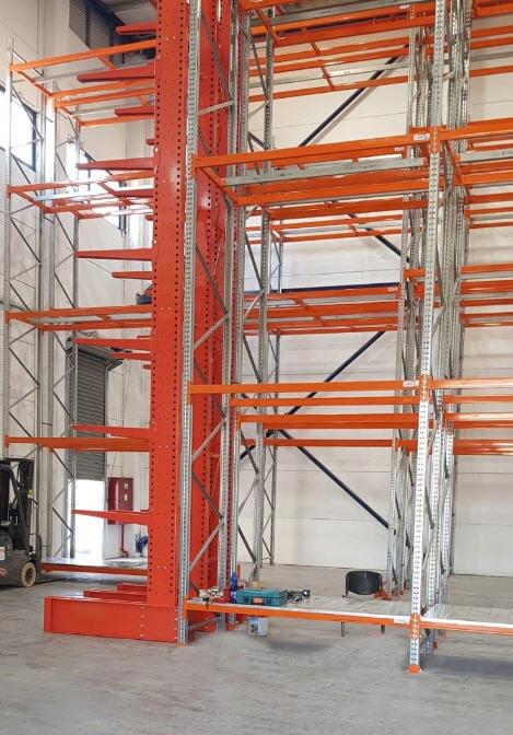 מדפי קנטיליבר Cantilever ארז ריהוט תעשייתי