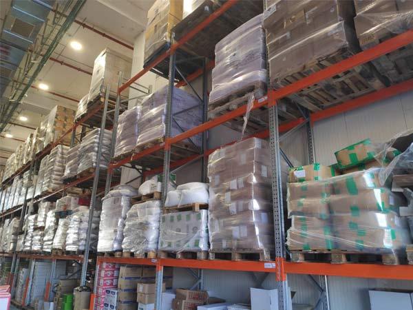 ארז ריהוט תעשייתי - מדפים למחסן מזון