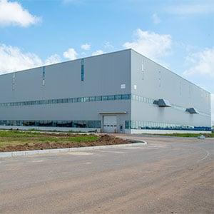 הקמת מפעל ומערך לוגיסטי