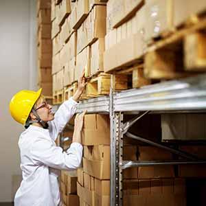 אחסון מצרי מזון יבשים במפעלי מזון